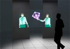 "Mitsubishi Electric Develops ""Aerial Display"" that Projects Large Images Midair"