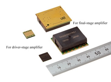 Silicon RF high-output MOSFET module pair